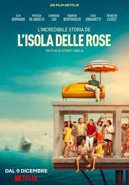L'incredibile Storia de L'isola delle Rose – M. Malatesta nel cast