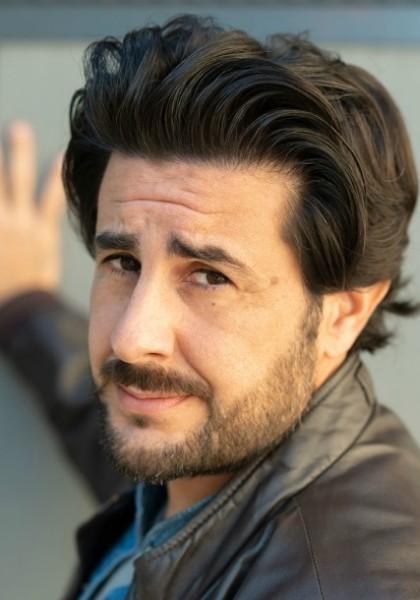 Claudio Del Rosso sul set della serie tv Un Professore!